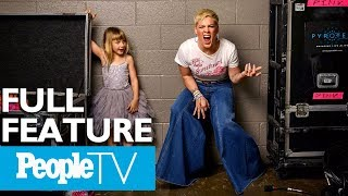 Download Pink Opens Up About Raising Strong Kids, How Her Childhood Shaped The Way She Parents | PeopleTV Video