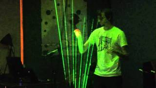 Download Tetris Theme on Laser Harp - Theremin Hero LIVE! Finale - Gamecity 5 Nottingham Video