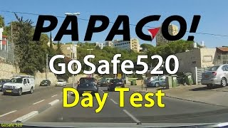 Download PAPAGO! GoSafe 520 Dash Cam Day Test 2560x1080p 2K UWHD Video