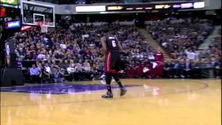 Download LeBron James Insane Windmill Slam Dunk vs Kings HD Video