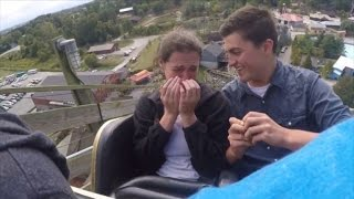 Download How This Boyfriend Pulled Off a Surprise Roller Coaster Proposal Video