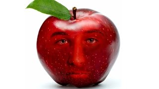 Download Photoshop Tutorial: Create FACE INTO Fruit Apple Video