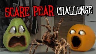 Download Annoying Orange - The Scare Pear Challenge #Shocktober Video