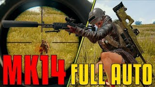 Download MK14 Full Auto And AWM - 22 Kill 1st Person | PUBG Video