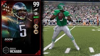 Download 99 Boss Ultimate Legend Donovan McNabb | Player Review | Madden 17 Ultimate Team Gameplay | MUT 17 Video