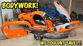 Download Rebuilding A Wrecked 2014 Dodge Viper TA ″TIME ATTACK″ PART 10 Video