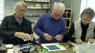 Download In Business: Creative Minds, Messy Fingers Allows Customers To Be Creative Through Art Video
