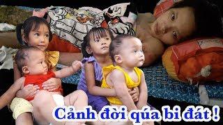 Download Ứa nước mắt với hoàn cảnh và 4 đứa con nheo nhóc của người phụ nữ đáng thương - Guufood Video