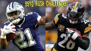 Download WHO CAN GET A 99YD RUSH FIRST?!? EZEKIEL ELLIOTT VS LEVEON BELL!! Video