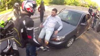 Download Banda motociklista je umalo pretukla momka, a onda se desilo nešto potpuno neočekivano Video