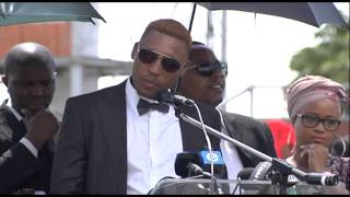 Download Music group Skwatta Kamp at Flabba's funeral Video