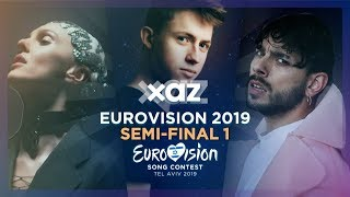 Download Eurovision 2019: Semi-final 1 (Recap of all songs) Video