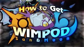 Download HOW TO GET WIMPOD EARLY ON in Pokémon Sun & Moon - Pokémon Sun and Pokémon Moon Tutorial/Guide Video