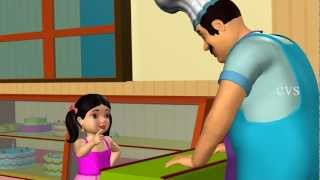 Download Pat a cake Pat a cake - 3D Animation Nursery rhyme with lyrics for children Video
