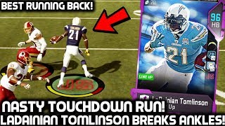 Download LADAINIAN TOMLINSON BREAKS PLAYERS ANKLES! MUST SEE TOUCHDOWN RUN! MADDEN 19 ULTIMATE TEAM Video
