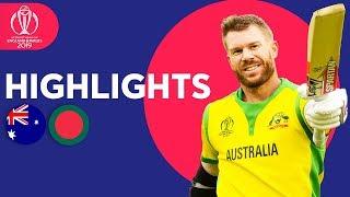 Download 700+ Runs In High Scorer! | Australia vs Bangladesh | ICC Cricket World Cup 2019 - Match Highlights Video