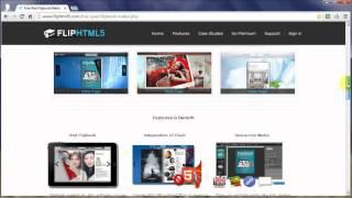 Download Flip HTML5 Free iPad Flipbook Maker Video