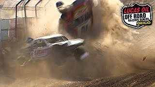 Download Worst Short Course Truck Crashes of 2015 - Lucas Oil Offroad Racing Series Crash Compilation Video