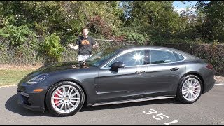 Download The 2017 Porsche Panamera Turbo Is the Ultimate $150,000 Luxury Sedan Video