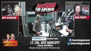 Download Chicago's Morning Answer - Lt. Col. Jeff Addicott - March 23, 2017 Video