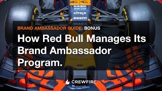 Download How Red Bull manages its brand ambassador and street team program. Video