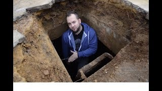 Download Local Man Is Stunned When His Collapsed Driveway Reveals A Secret Room Under His House Video