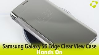 Download Official Samsung Galaxy S6 Edge Clear View Cover Case Hands On Review Video