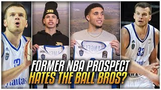 Download Why THIS Teammate HATES The BALL BROTHERS & Wants Them OUT Of LITHUANIA! Video