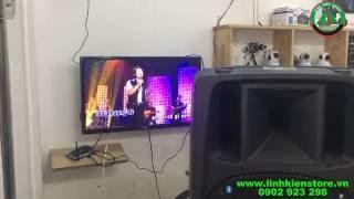 Download Kết nối loa kéo với tivi thông qua Android tivi box q7 hát karaoke Video