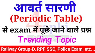 Download Periodic Table | आवर्त सारणी | RRB GROUP-D, RPF SPECIAL Video