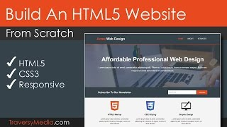 Download Build An HTML5 Website With A Responsive Layout Video