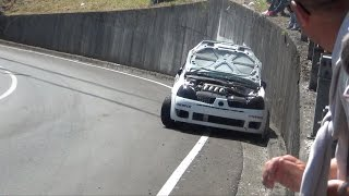 Download Subida a Santo Emiliano 2016 RallyRacing Crash, show & full attack Video