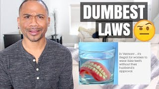 Download TOP 50 DUMBEST LAWS IN AMERICA | 50 WEIRD STATES Video