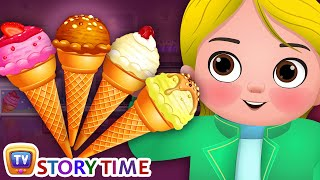 Download Greedy Little Cussly - Ice Cream - Good Habits Bedtime Stories & Moral Stories for Kids - ChuChu TV Video