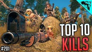 Download DROP SHOT - TOP 10 Player Unknowns Battlegrounds Plays - WBCW #201 (PUBG Top 10 Kills) Video