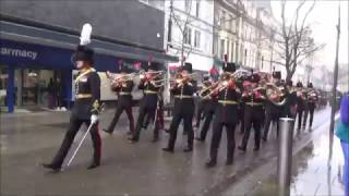 Download The Royal Artillery Band Freedom Parade in Newport 2017 Video