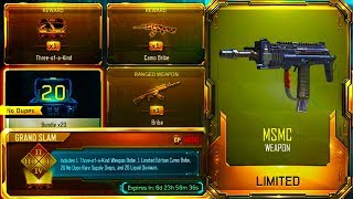 Download 125/125 WINS OPENING NOW! THREE DLC WEAPONS ONE SUPPLY DROP! [GRAND SLAM CONTRACT IN BLACK OPS 3] Video
