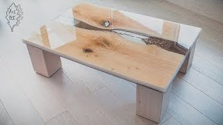 Download ″Time For Coffee″ - Epoxy Hourglass - Coffee Table - Resin Art Video