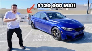 Download TAKING DELIVERY OF THE MOST EXPENSIVE BMW M3 IN THE US! Video