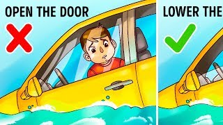 Download The Only Way to Survive In a Sinking Car Video