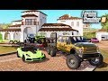 Download FS19- LIFE OF A BILLIONAIRE! BUYING MANSION, GOLD F-550 6x6, CORVETTE ZR1 & MORE Video