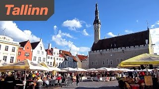 Download Tallinn Estonia - HD Video Tour of the City Video