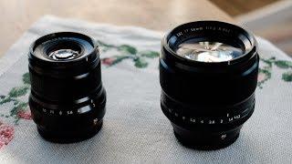 Download Fujifilm XF 50mm f2.0 WR vs 56mm f1.2 Video