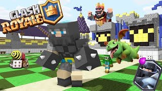 Download Monster School : Clash Royale Red King Legendary Deck - Minecraft Animation Video