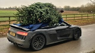 Download Christmas Tree Shopping With An Audi R8 Video