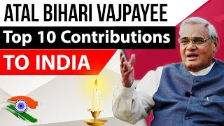 Download Atal Bihari Vajpayee ji's 10 Contributions to India - Tribute - अटल बिहारी वाजपेयी Video