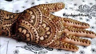 Download easy bridal henna mehndi designs for hands || mehndi designs for hands for marriage Video