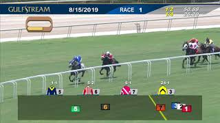 Download Gulfstream Park August 15, 2019 Race 1 Video