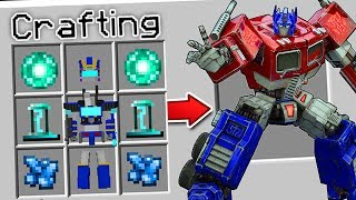 Download CRAFTING A TRANSFORMER IN MINECRAFT?!... (*ACTUALLY WORKS*) Video