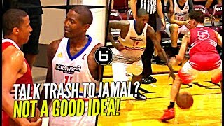 Download DON'T TALK TRASH TO JAMAL CRAWFORD!! NUTMEGS Defender & Hits The 3! Crawsover Pro Am FULL Highlights Video